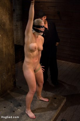 Photo number 11 from Very intense SM scene with hot blond.<br>Pushed to the edge of sanity and back.<br>Brutal Orgasms shot for Hogtied on Kink.com. Featuring Holly Heart in hardcore BDSM & Fetish porn.