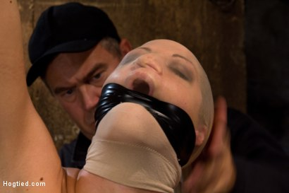 Photo number 3 from Very intense SM scene with hot blond.<br>Pushed to the edge of sanity and back.<br>Brutal Orgasms shot for Hogtied on Kink.com. Featuring Holly Heart in hardcore BDSM & Fetish porn.