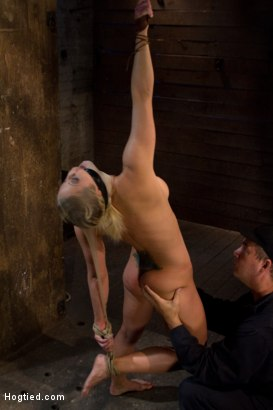 Photo number 6 from Very intense SM scene with hot blond.<br>Pushed to the edge of sanity and back.<br>Brutal Orgasms shot for Hogtied on Kink.com. Featuring Holly Heart in hardcore BDSM & Fetish porn.