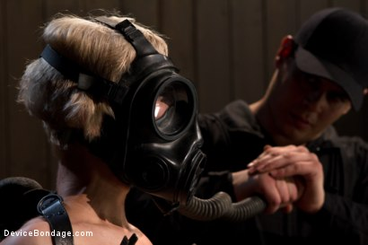 Photo number 7 from The sweet taste of stress.  shot for Device Bondage on Kink.com. Featuring Cherry Torn in hardcore BDSM & Fetish porn.