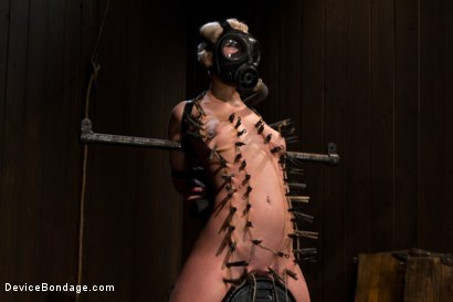 Photo number 8 from The sweet taste of stress.  shot for Device Bondage on Kink.com. Featuring Cherry Torn in hardcore BDSM & Fetish porn.