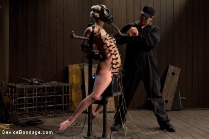 Photo number 9 from The sweet taste of stress.  shot for Device Bondage on Kink.com. Featuring Cherry Torn in hardcore BDSM & Fetish porn.