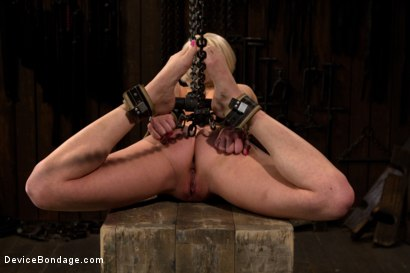 Photo number 2 from The sweet taste of stress.  shot for Device Bondage on Kink.com. Featuring Cherry Torn in hardcore BDSM & Fetish porn.