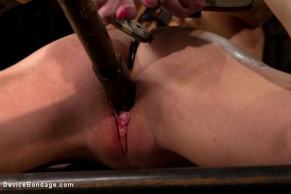 Photo number 4 from The sweet taste of stress.  shot for Device Bondage on Kink.com. Featuring Cherry Torn in hardcore BDSM & Fetish porn.