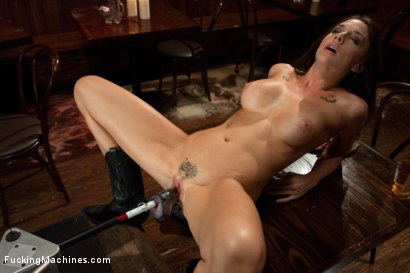 Photo number 8 from The Starlet of The Year Fucks Machines in a Cowboy Bar shot for Fucking Machines on Kink.com. Featuring Chanel Preston in hardcore BDSM & Fetish porn.