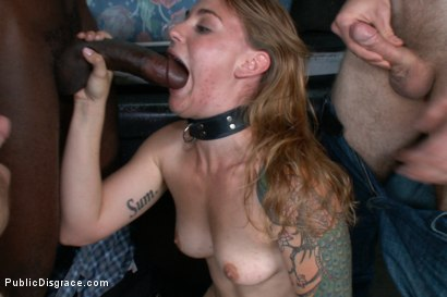 Photo number 11 from Folsom Street Whore shot for Public Disgrace on Kink.com. Featuring Payton Bell and Bobby Bends in hardcore BDSM & Fetish porn.