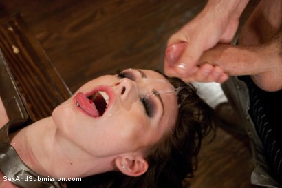 Photo number 14 from Looking for Trouble shot for Sex And Submission on Kink.com. Featuring James Deen and Jennifer White in hardcore BDSM & Fetish porn.