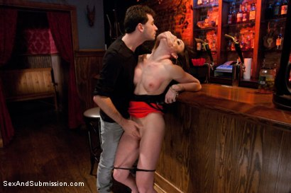 Photo number 3 from Looking for Trouble shot for Sex And Submission on Kink.com. Featuring James Deen and Jennifer White in hardcore BDSM & Fetish porn.