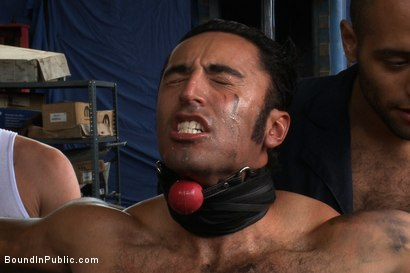 Photo number 7 from Car Whore  shot for Bound in Public on Kink.com. Featuring Spencer Reed and Gianni Luca in hardcore BDSM & Fetish porn.