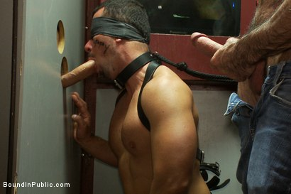 Photo number 6 from The Nob Hill Theater Slut shot for Bound in Public on Kink.com. Featuring Dominik Rider and Tristan Jaxx in hardcore BDSM & Fetish porn.