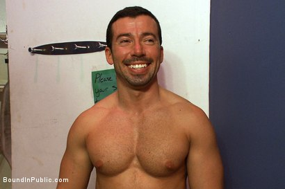 Photo number 15 from The Nob Hill Theater Slut shot for Bound in Public on Kink.com. Featuring Dominik Rider and Tristan Jaxx in hardcore BDSM & Fetish porn.