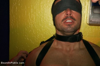 Photo number 2 from The Nob Hill Theater Slut shot for Bound in Public on Kink.com. Featuring Dominik Rider and Tristan Jaxx in hardcore BDSM & Fetish porn.