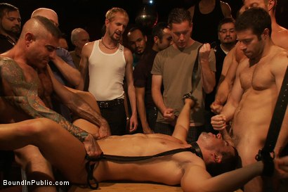Photo number 13 from The Nob Hill Theater Slut shot for Bound in Public on Kink.com. Featuring Dominik Rider and Tristan Jaxx in hardcore BDSM & Fetish porn.