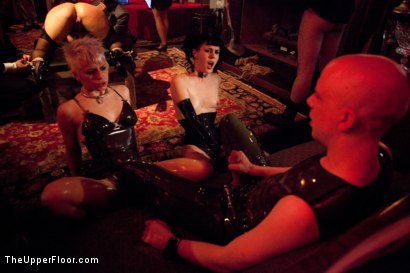 Photo number 11 from Halloween Party At The Armory! shot for The Upper Floor on Kink.com. Featuring Wolf Hudson, Emma Haize, Kait Snow, Iona Grace, Dana Vixen and Maestro in hardcore BDSM & Fetish porn.