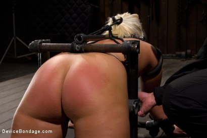 Photo number 5 from Sweet Ass, Tough Caning shot for Device Bondage on Kink.com. Featuring Kait Snow in hardcore BDSM & Fetish porn.