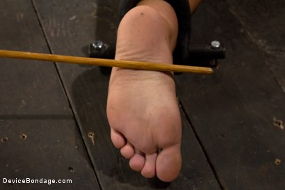 Photo number 8 from Sweet Ass, Tough Caning shot for Device Bondage on Kink.com. Featuring Kait Snow in hardcore BDSM & Fetish porn.