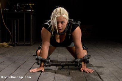 Photo number 1 from Sweet Ass, Tough Caning shot for Device Bondage on Kink.com. Featuring Kait Snow in hardcore BDSM & Fetish porn.
