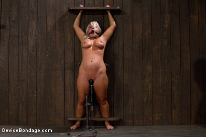 Photo number 15 from Stress is a Killer shot for Device Bondage on Kink.com. Featuring Kait Snow in hardcore BDSM & Fetish porn.