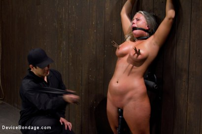 Photo number 9 from Stress is a Killer shot for Device Bondage on Kink.com. Featuring Kait Snow in hardcore BDSM & Fetish porn.