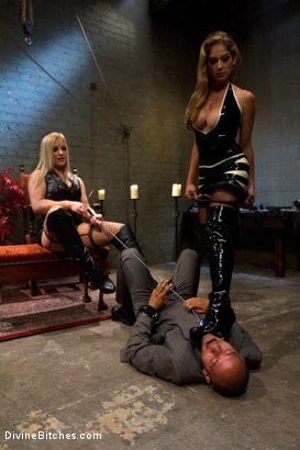 Photo number 12 from New male sub falls deep into sub space like never seen before on Divine Bitches. shot for Divine Bitches on Kink.com. Featuring Dia Zerva, Leo Forte and Felony in hardcore BDSM & Fetish porn.