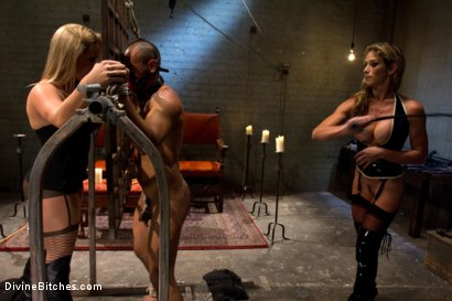 Photo number 6 from New male sub falls deep into sub space like never seen before on Divine Bitches. shot for Divine Bitches on Kink.com. Featuring Dia Zerva, Leo Forte and Felony in hardcore BDSM & Fetish porn.