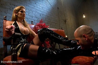 Photo number 15 from New male sub falls deep into sub space like never seen before on Divine Bitches. shot for Divine Bitches on Kink.com. Featuring Dia Zerva, Leo Forte and Felony in hardcore BDSM & Fetish porn.
