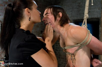 Photo number 11 from Pathetic Little Floor Mat: Episode 1 <br> Dylan Deap shot for Divine Bitches on Kink.com. Featuring Ms Kim and Dylan Deap in hardcore BDSM & Fetish porn.