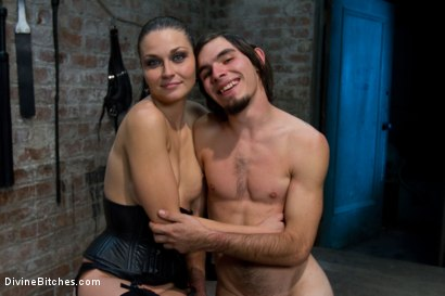 Photo number 5 from Pathetic Little Floor Mat: Episode 1 <br> Dylan Deap shot for Divine Bitches on Kink.com. Featuring Ms Kim and Dylan Deap in hardcore BDSM & Fetish porn.