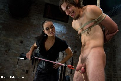 Photo number 1 from Pathetic Little Floor Mat: Episode 1 <br> Dylan Deap shot for Divine Bitches on Kink.com. Featuring Ms Kim and Dylan Deap in hardcore BDSM & Fetish porn.