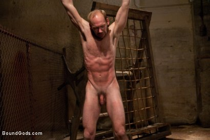 Photo number 11 from A Bound Gods member gets tied up, abused and fucked till he begs for mercy. shot for Bound Gods on Kink.com. Featuring Nick Moretti and Mike Tanner in hardcore BDSM & Fetish porn.