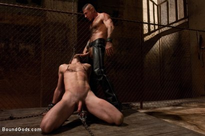 Photo number 8 from A Bound Gods member gets tied up, abused and fucked till he begs for mercy. shot for Bound Gods on Kink.com. Featuring Nick Moretti and Mike Tanner in hardcore BDSM & Fetish porn.