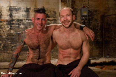 Photo number 15 from A Bound Gods member gets tied up, abused and fucked till he begs for mercy. shot for Bound Gods on Kink.com. Featuring Nick Moretti and Mike Tanner in hardcore BDSM & Fetish porn.