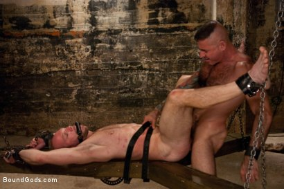 Photo number 14 from A Bound Gods member gets tied up, abused and fucked till he begs for mercy. shot for Bound Gods on Kink.com. Featuring Nick Moretti and Mike Tanner in hardcore BDSM & Fetish porn.