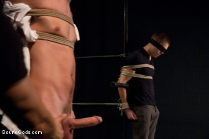 Photo number 1 from Hayden Russo bound for the first time shot for Bound Gods on Kink.com. Featuring Van Darkholme, Matthew Singer and Hayden Russo in hardcore BDSM & Fetish porn.