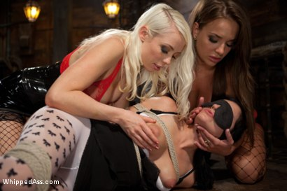 Photo number 10 from Cute As A Button and Double Penetrated shot for Whipped Ass on Kink.com. Featuring Nika Noire, Tori Lux and Lorelei Lee in hardcore BDSM & Fetish porn.