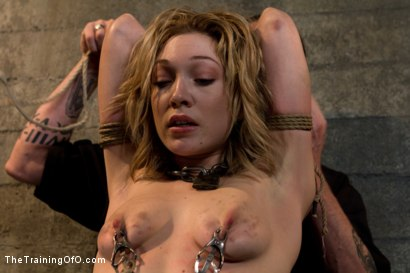 Photo number 1 from Lily LaBeau Day 3 shot for The Training Of O on Kink.com. Featuring Wolf Hudson and Lily LaBeau in hardcore BDSM & Fetish porn.