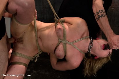 Photo number 6 from Lily LaBeau Day 3 shot for The Training Of O on Kink.com. Featuring Wolf Hudson and Lily LaBeau in hardcore BDSM & Fetish porn.