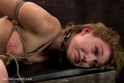 Photo number 8 from Lily LaBeau Day 3 shot for The Training Of O on Kink.com. Featuring Wolf Hudson and Lily LaBeau in hardcore BDSM & Fetish porn.