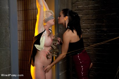 Photo number 3 from My Apologies shot for Wired Pussy on Kink.com. Featuring Ms Kim and Devon Taylor in hardcore BDSM & Fetish porn.