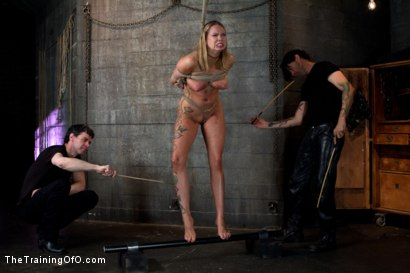Photo number 10 from Rain DeGrey Day 2 shot for The Training Of O on Kink.com. Featuring Rain DeGrey and Sir Nik in hardcore BDSM & Fetish porn.