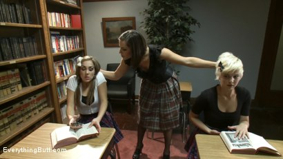 Photo number 1 from Over the Knee and Sodomized shot for Everything Butt on Kink.com. Featuring Anthony Rosano, Kiera King, Bobbi Starr and Chloe Camilla in hardcore BDSM & Fetish porn.