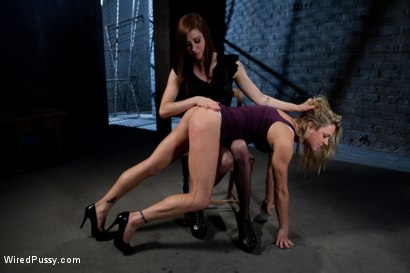 Photo number 1 from Sexy Milf Tied Up and Dominated shot for Wired Pussy on Kink.com. Featuring Princess Donna Dolore and Amanda Blow in hardcore BDSM & Fetish porn.