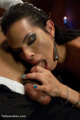 Photo number 4 from A Taxi Driver's Tour of the Armory; <br> The FULL tour shot for TS Seduction on Kink.com. Featuring TS Foxxy and Leo Forte in hardcore BDSM & Fetish porn.