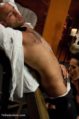 Photo number 6 from A Taxi Driver's Tour of the Armory; <br> The FULL tour shot for TS Seduction on Kink.com. Featuring TS Foxxy and Leo Forte in hardcore BDSM & Fetish porn.