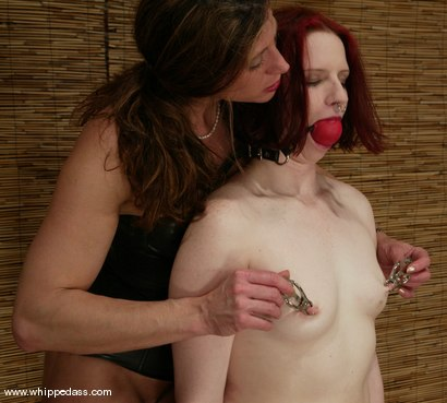 Photo number 11 from Claire Adams and Kym Wilde shot for Whipped Ass on Kink.com. Featuring Claire Adams and Kym Wilde in hardcore BDSM & Fetish porn.