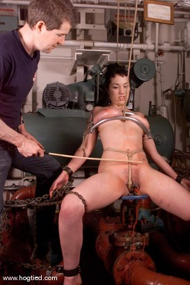 Photo number 3 from Bella shot for Hogtied on Kink.com. Featuring Bella in hardcore BDSM & Fetish porn.