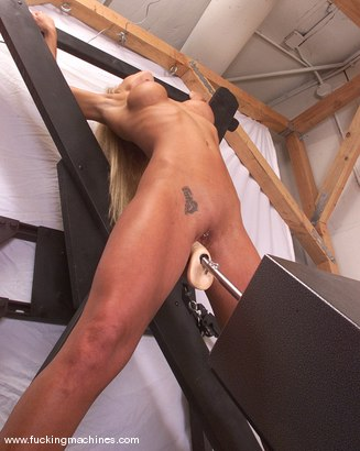 Photo number 3 from Janay shot for Fucking Machines on Kink.com. Featuring Janay in hardcore BDSM & Fetish porn.
