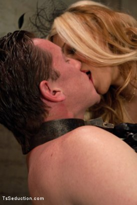 Photo number 4 from The Wives Club: Cheaters Never Win shot for TS Seduction on Kink.com. Featuring Vern Hopkins and Paris in hardcore BDSM & Fetish porn.