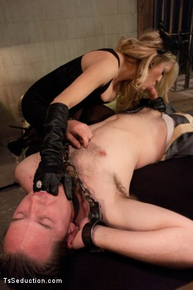 Photo number 3 from The Wives Club: Cheaters Never Win shot for TS Seduction on Kink.com. Featuring Vern Hopkins and Paris in hardcore BDSM & Fetish porn.