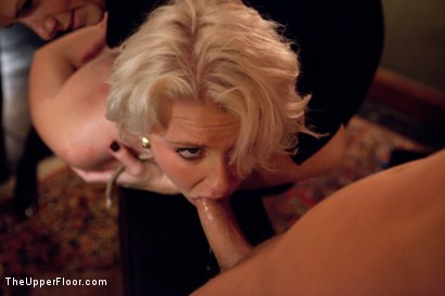 Photo number 7 from Otto and Audrey return to TUF! shot for The Upper Floor on Kink.com. Featuring Kait Snow, Devon Taylor , Marco Banderas, Maestro, Otto Bauer and Audrey Hollander in hardcore BDSM & Fetish porn.